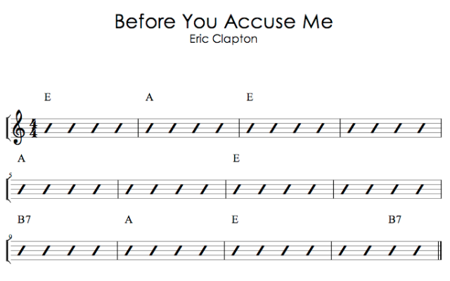 Before You Accuse Me - Eric Clapton